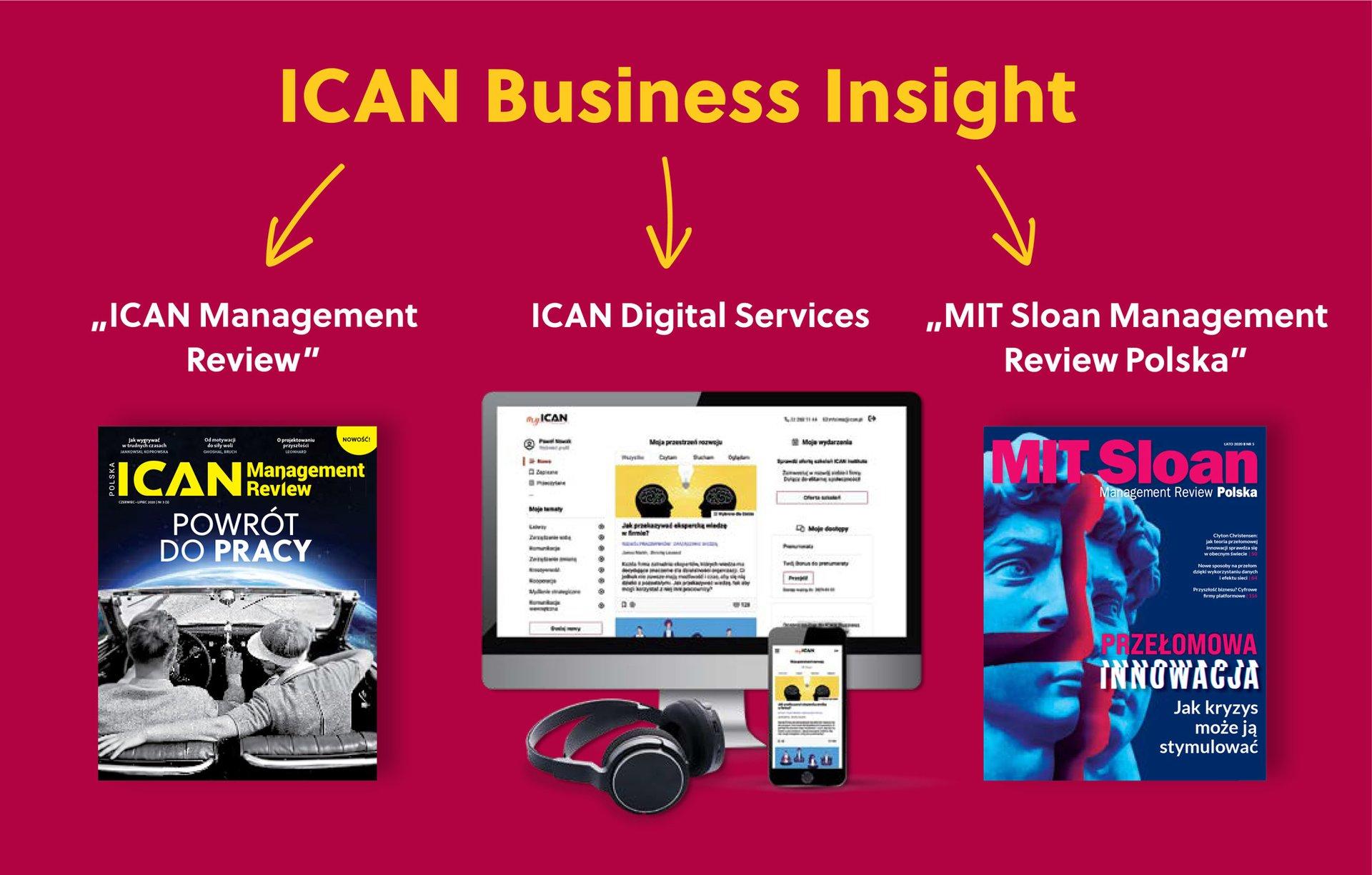Uwaga! ICAN Institute  uruchamia nową platformę wiedzy ICAN Business Insight