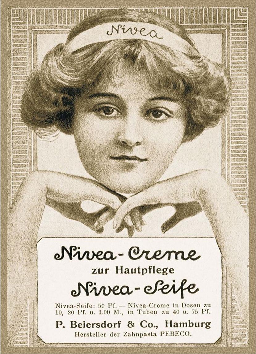 OskarTroplowitz iśnieżna biel kremu Nivea