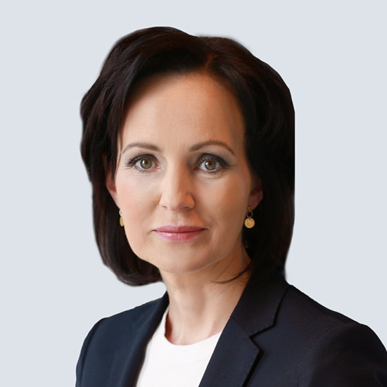 Joanna Erdman, Wiceprezes Zarządu ING Banku Śląskiego zarządzająca Pionem Ryzyka