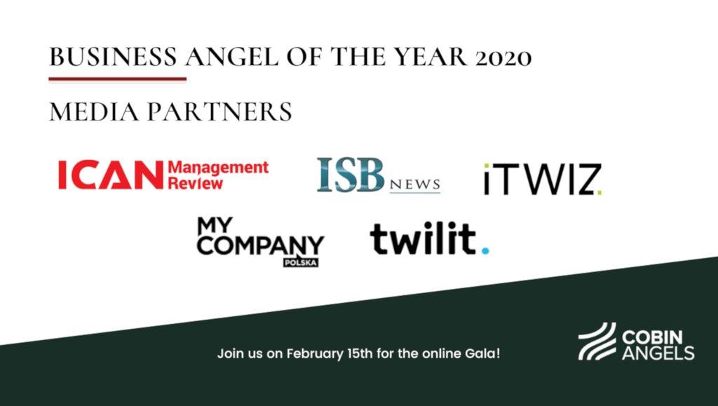Znamy finalistów konkursu Business Angel of the Year 2020
