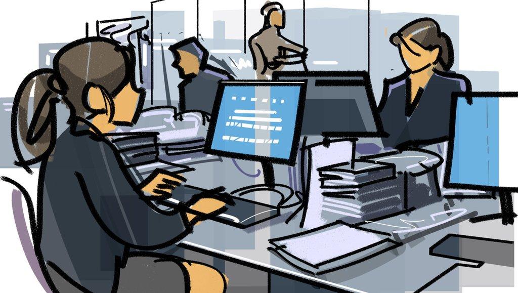 Małe firmy chętniej wrócą do modelu pracy wbiurze