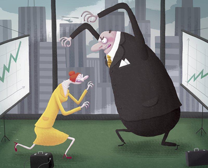 Konflikt między menedżerami! Co powinien zrobić szef?