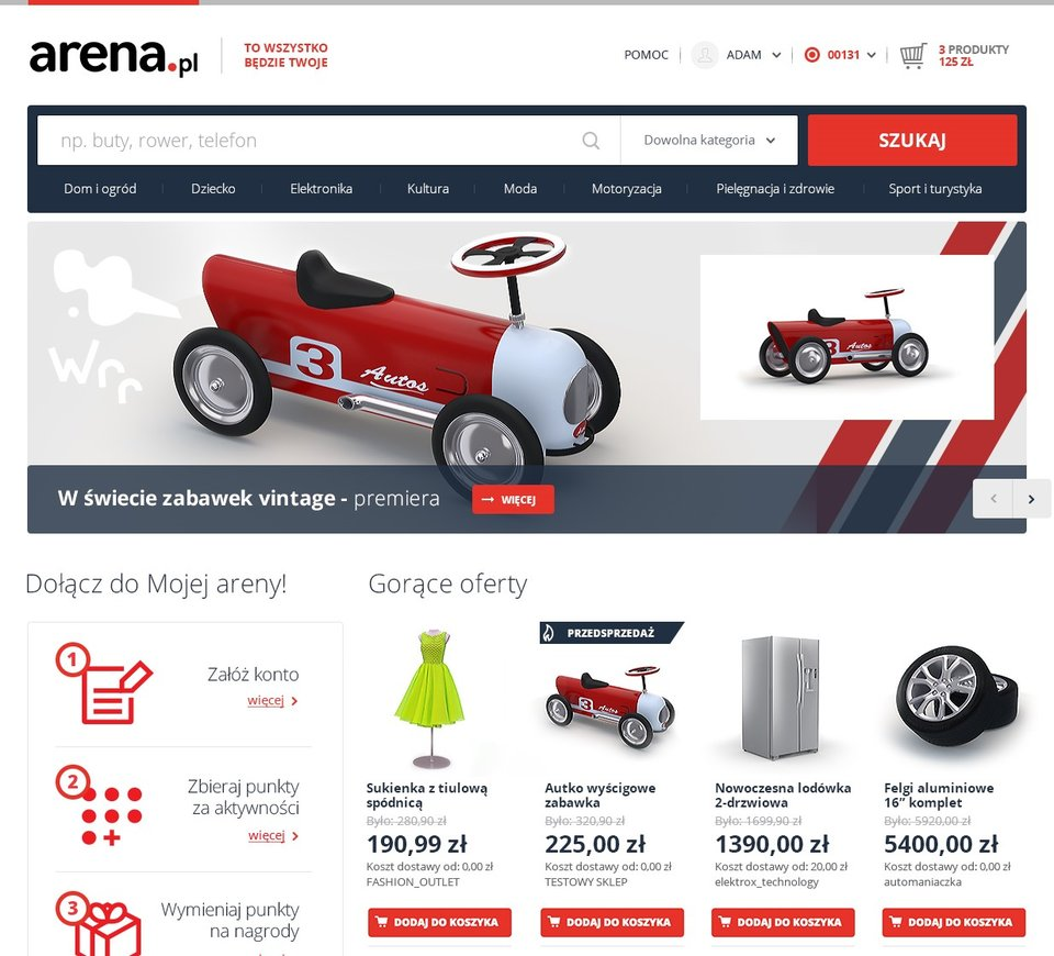 Arena.pl: współwłasność jako sposób na zaangażowanie użytkowników