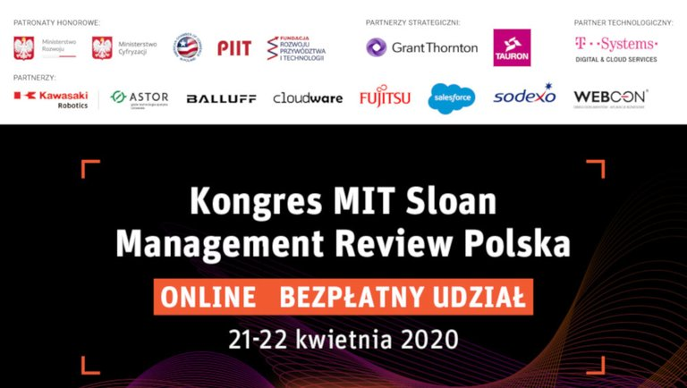 Kongres MIT Sloan Management Review Polska ONLINE
