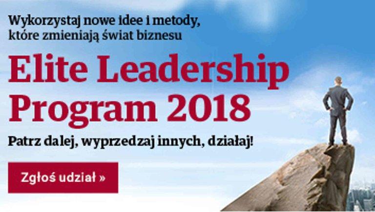 Znamy już ekspertów programu Elite Leadership 2018