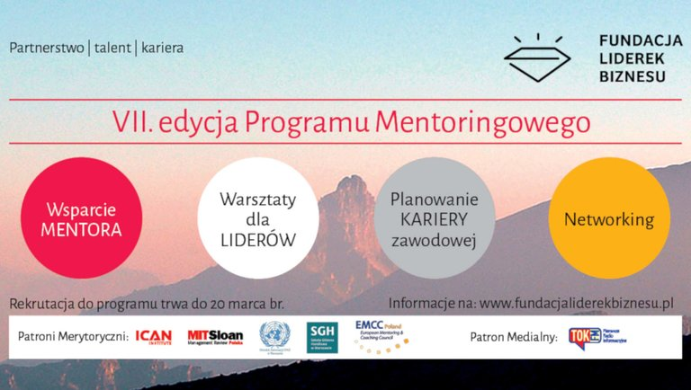 Rusza 7. edycja Programu Mentoringowego Fundacji Liderek Biznesu