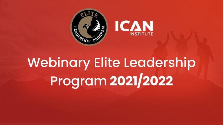 Startuje cykl webinariów przed konferencjami Elite Leadership Program 2021/22