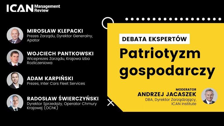 Patriotyzm gospodarczy – debata ekspertów