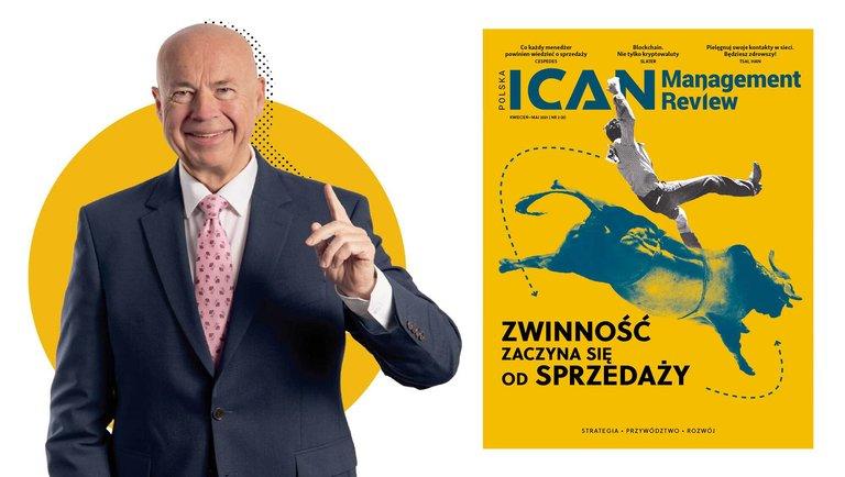 """ZWINNOŚĆ ZACZYNA SIĘ OD SPRZEDAŻY– nowy numer """"ICAN Management Review"""""""