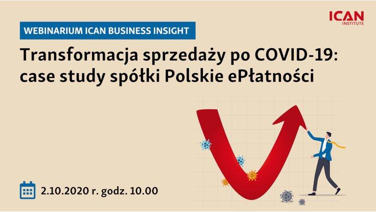 Transformacja sprzedaży po COVID-19: case study spółki Polskie ePłatności