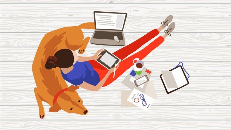 Polakom spodobała się praca zdalna: 88% pracowników chce dalej korzystać zhome office